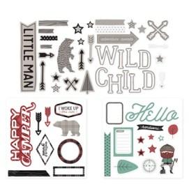 Jack Complements - stickers & dimensional pieces