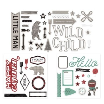 Jack Complements - stickers & dimensional pieces